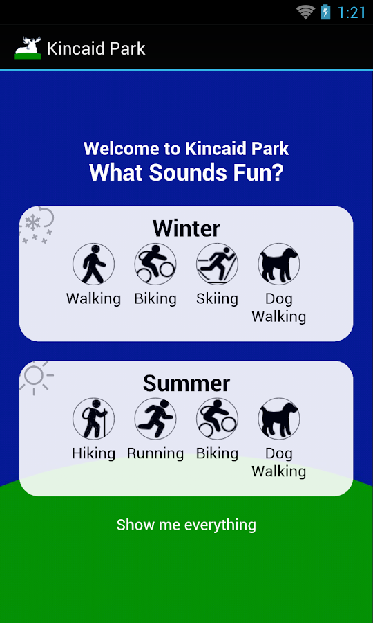 Find Yourself in Kincaid Park- screenshot