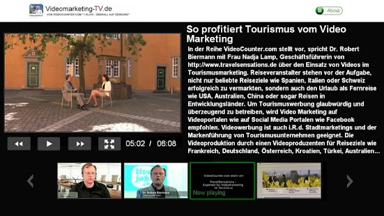 Videomarketing TV- screenshot thumbnail