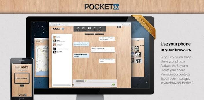 pocket.do - SMS ↔ Browser