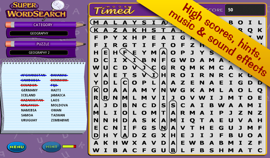 Super Word Search!- screenshot