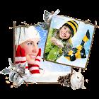 Marcos de fotos de Invierno icon