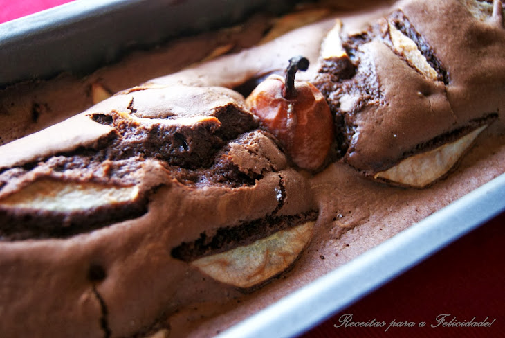Chocolate and Pear Cake Recipe