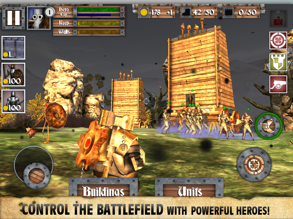 Heroes and Castles screenshot #9