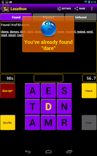 Lexathon® word jumble- screenshot thumbnail