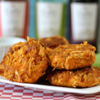 Cheesy Buffalo Chicken Cakes
