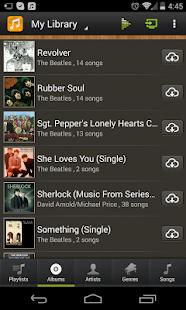 abMusic (music player) - screenshot thumbnail