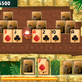 PYRAMID PATIENCE GAME cardgame icon