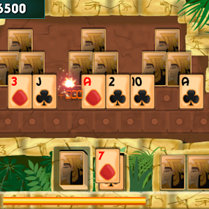 PYRAMID SOLITAIRE card game