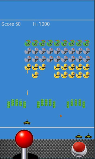 Spaced Out RubberDuck Invaders