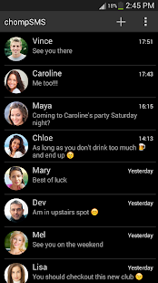 chomp SMS theme add-on