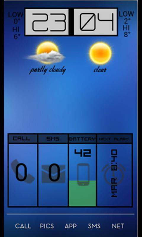 Beautiful Weather + UCCW - screenshot