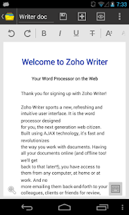 Zoho Docs - screenshot thumbnail