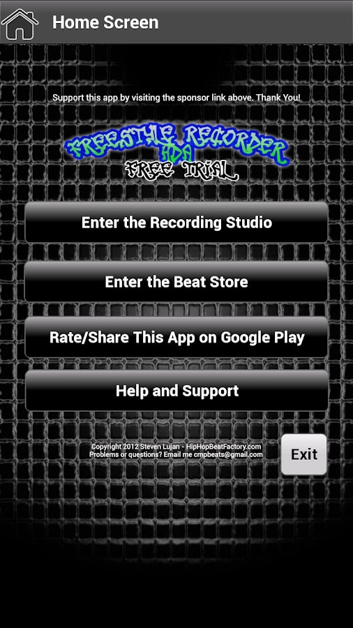 FreeStyle Recorder HDA FREE - screenshot