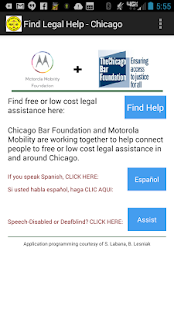 Find Legal Help - Chicago- screenshot thumbnail