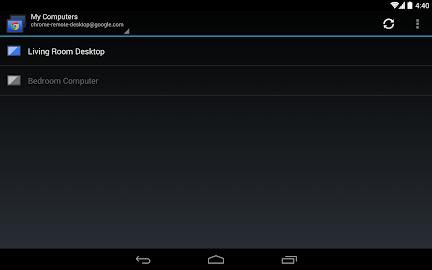 Chrome Remote Desktop Screenshot 8