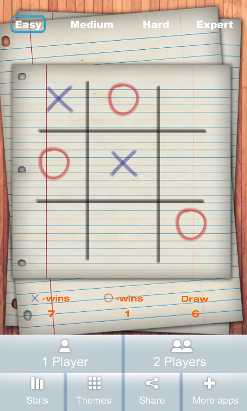 Tic Tac Toe Game - screenshot