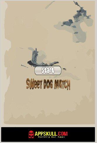 Sweet Dog Match Game - Free