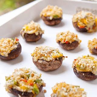 Grilled Stuffed Mushrooms.