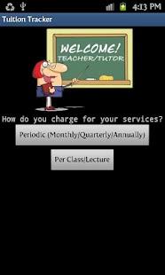 Teacher Tutor Earnings Manager