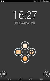 White and Orange Theme - screenshot thumbnail