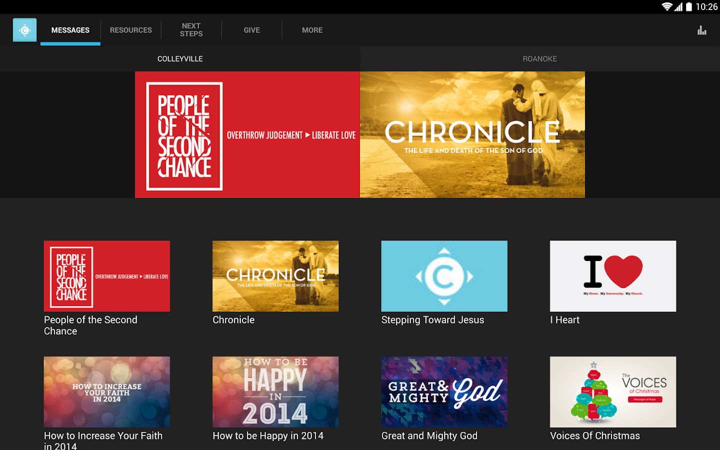 Compass Christian Church - screenshot
