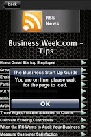 Screenshot of The Business Start Up Guide