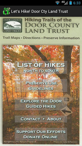 Door County Land Trust Hikes