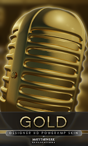 gold poweramp skin v2.02