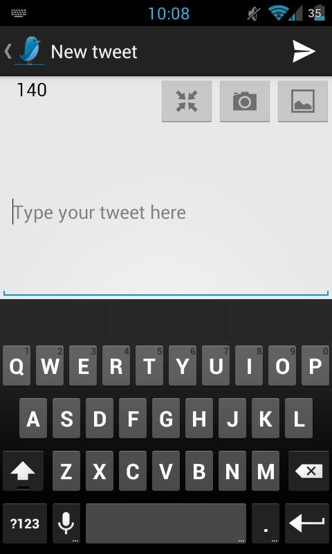 TweetLine for Free (Twitter) - screenshot