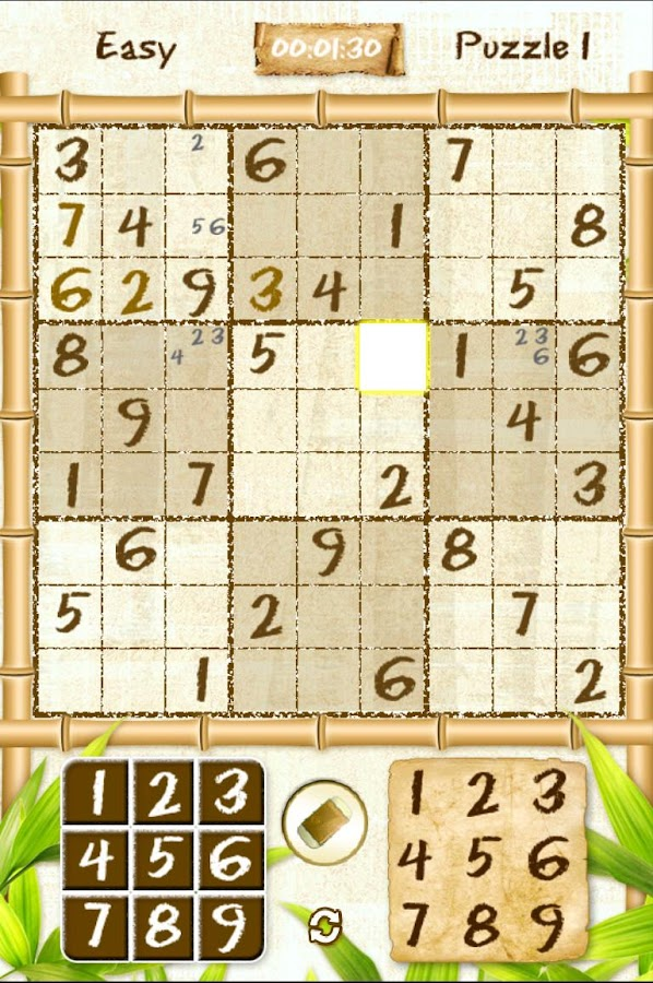 Real Sudoku Free- screenshot