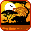 Africa sunset wallpaper Pro logo