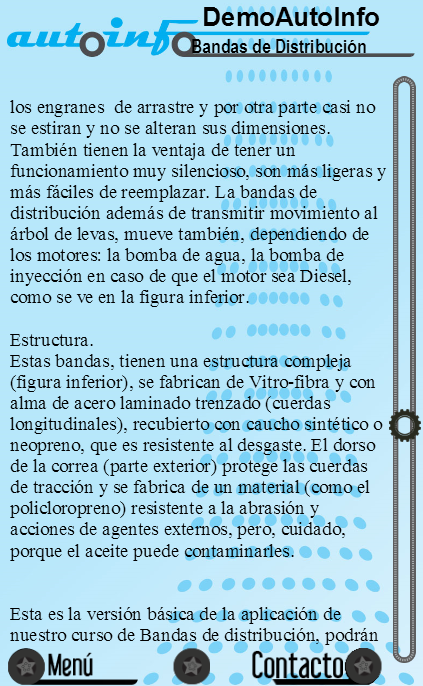 Demo Bandas de Distribución - screenshot