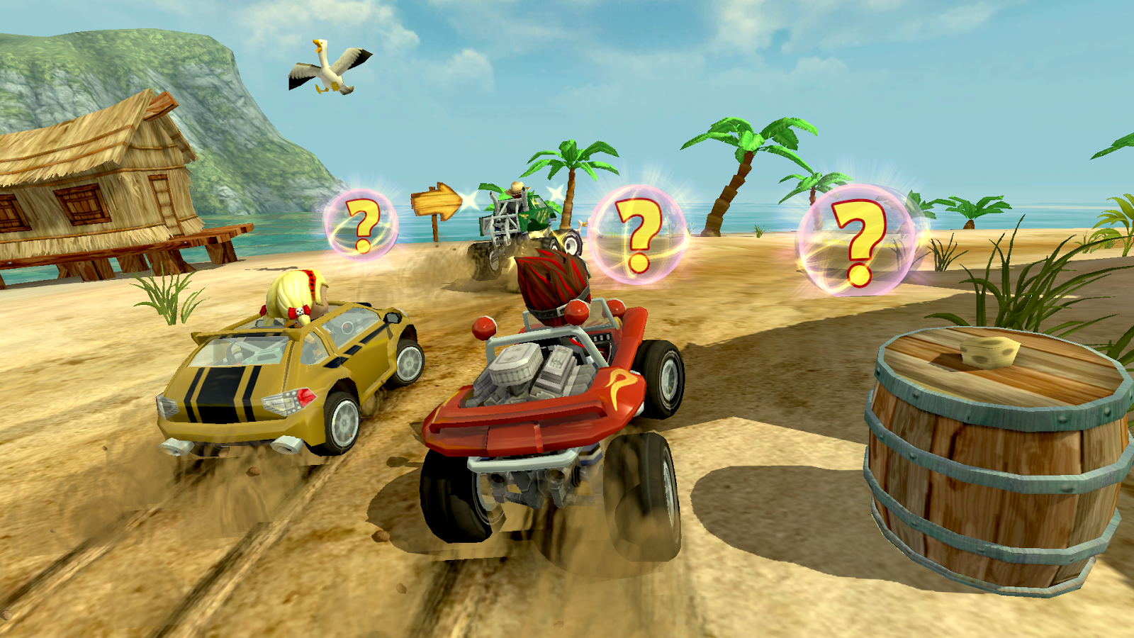 Beach Buggy Racing– captură de ecran