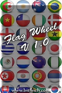 Flag Wheel Quiz- screenshot thumbnail