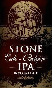 Logo of Stone Cali-Belgique IPA