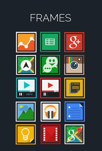 Frames- Icon Pack
