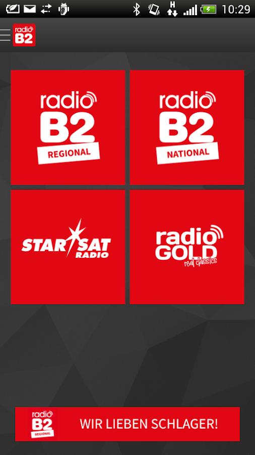 radio B2 - screenshot