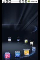 Screenshot of NetFront Life Screen