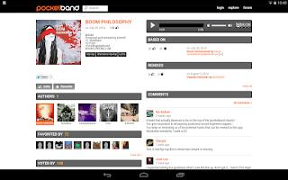 Screenshot of PocketBand - Social DAW