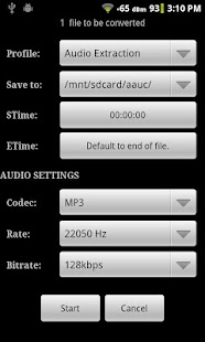Android Audio Editor - screenshot thumbnail