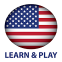 Learn and play. US English (American) 1000 words icon