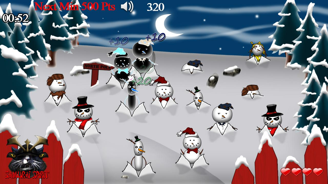 Christmas Santa Mole Smash - screenshot
