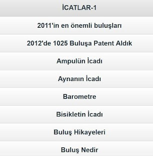 Icatlar &; buluşlar tarihi 1 - screenshot thumbnail