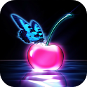 Cherry Butterfly Wallpaper icon