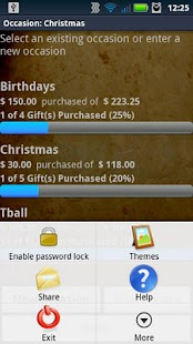 Christmas List Gift Mgr Pro - screenshot thumbnail