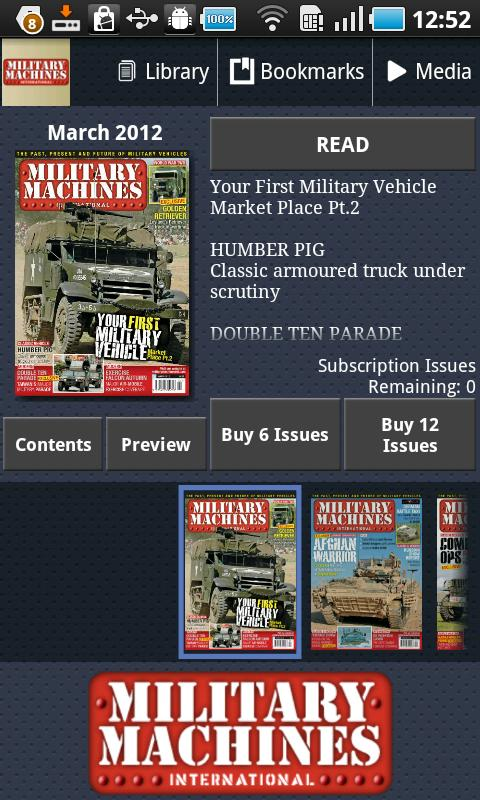 Military Machines Intl- screenshot