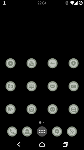 Grey Matter Icon Pack