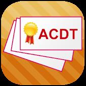 ACDT Flashcards