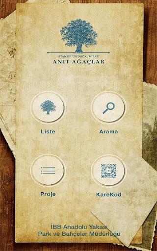 Anıt Ağaçlar - Anadolu