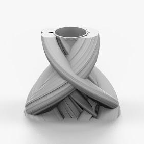 Zbrush Sculpture Vase - 3D Print Art